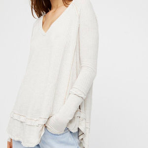 Free People Laguna Thermal Oatmeal Large